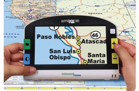 Amigo HD with Map