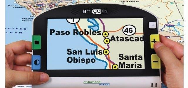 Amigo HD with Map